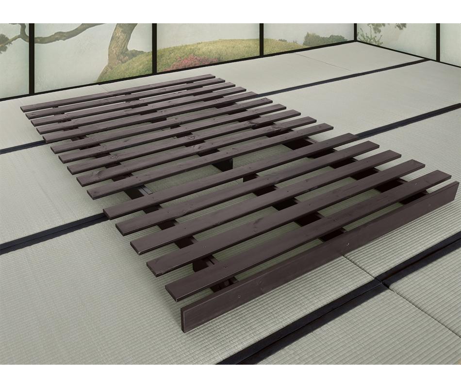 Divano letto futon roots zen vivere zen - Divano ikea con struttura in legno ...