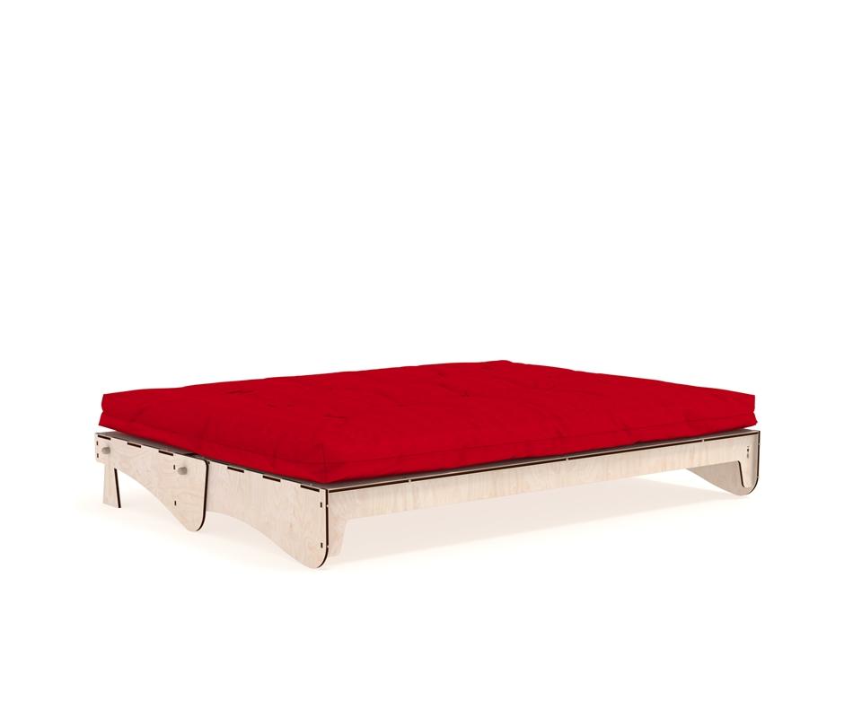 Divano letto futon dakota vivere zen for Divano letto futon