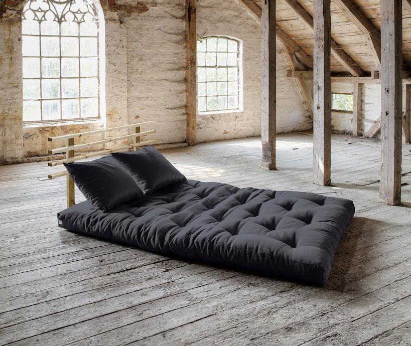 Divano letto futon shin sano zen vivere zen for Letto futon