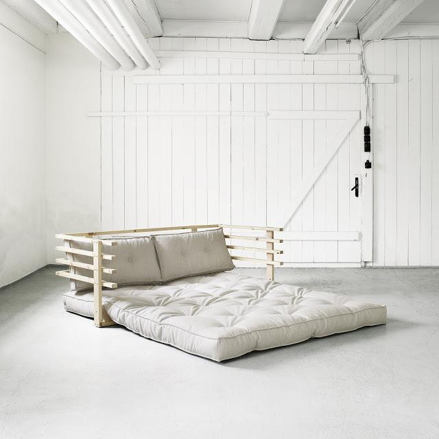 Divano letto futon yori vivere zen - Futon divano letto ...