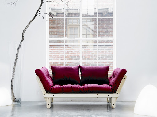 Divano letto futon beat zen pino scandinavo vivere zen - Divano letto scandinavo ...