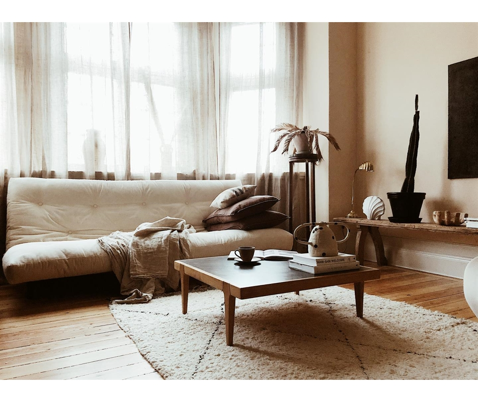 Divano letto futon fresh zen vivere zen for Divano letto futon