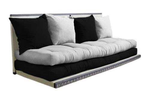 Divano letto futon kanto double vivere zen - Housse matelas futon ...