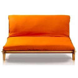 Divano letto futon yasumi vivere zen for Divano verde salvia