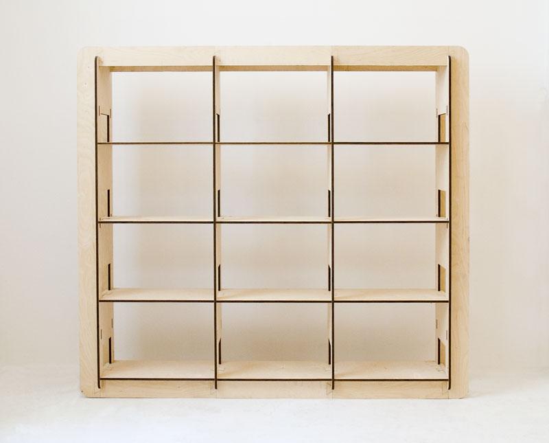 Libreria H3 modulare componibile - 180cm - Vivere Zen