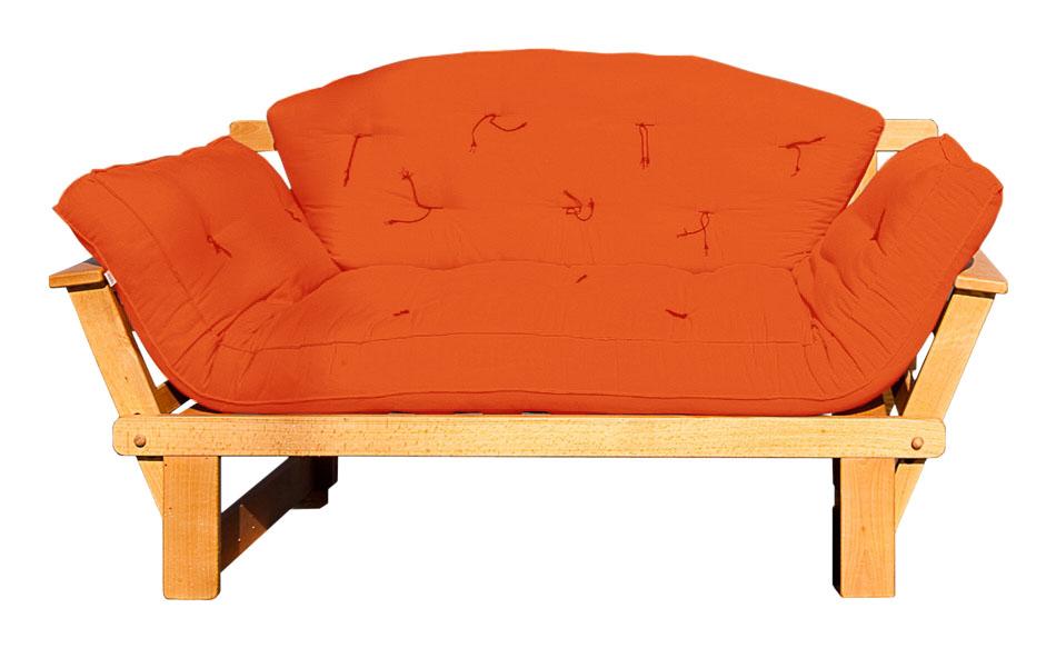 Divano letto futon sesamo a tre posti vivere zen