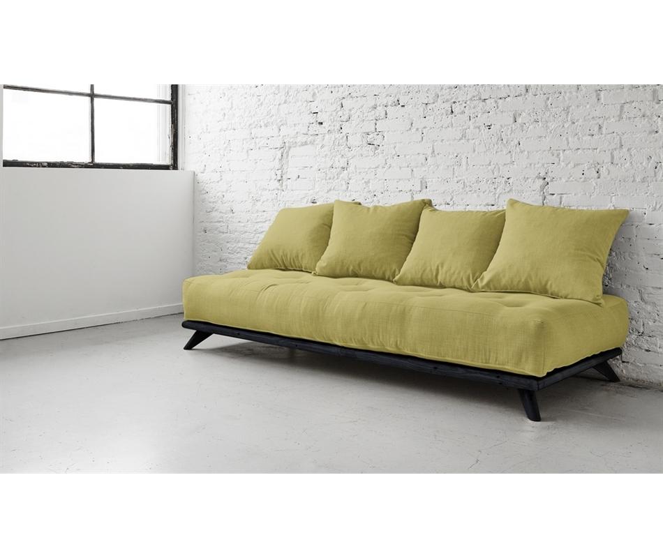 Divano Verde Acido : Divano letto futon senza zen vivere