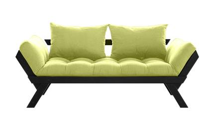 Divano letto futon bebop zen vivere zen - Divano verde acido ...