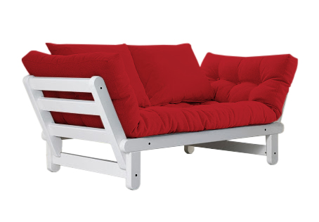 Divano letto futon beat   zen (pino scandinavo)   vivere zen