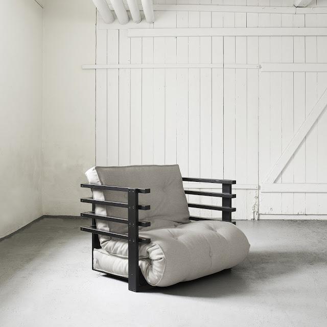 Poltrona letto futon yori vivere zen for Poltrona letto futon