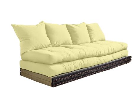 Divano letto futon kanto double vivere zen for Divano letto futon