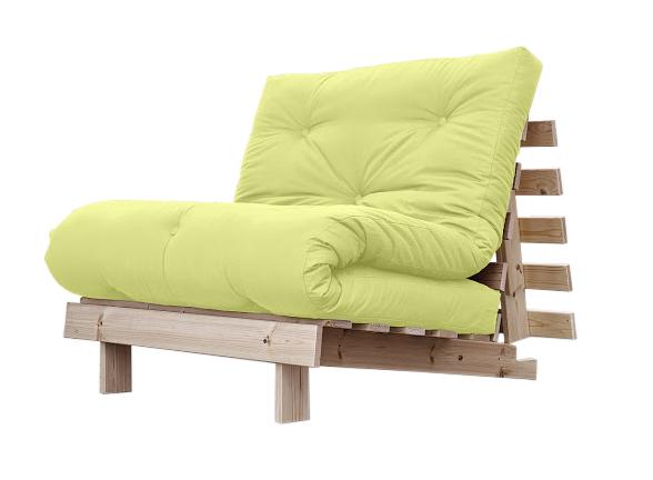 Poltrona letto futon roots zen vivere zen for Poltrona letto singolo ikea