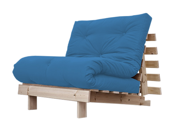 Poltrona letto futon roots zen vivere zen for Poltrona letto futon