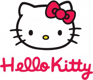 Logotyp Hello Kitty