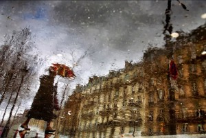 Paris in the rain diChristophe Jacrot