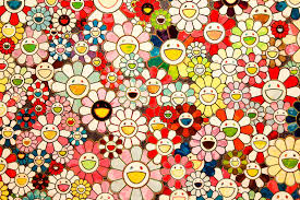 Takashi Murakami paintings