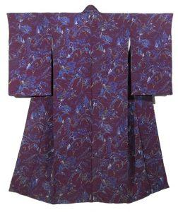 kimono komon donna tsuri vintage viverezen