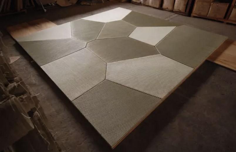 tatami poligonali