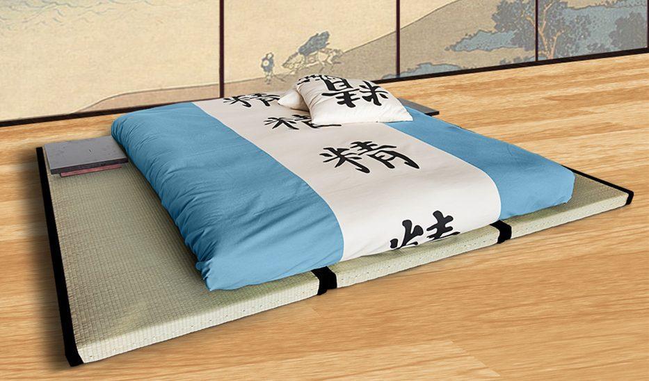 kit letto tatami e futon