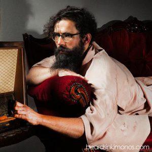 Bearded Men in Silky Kimonos