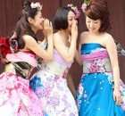 Kimono giapponesi da sposa