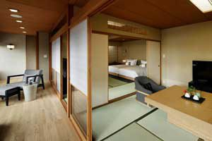 Arredamento giapponese hotel