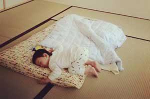 Baby futon