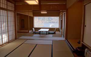 Stanza con il tatami