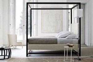 Letti A Baldacchino Moderni : Letti in legno a baldacchino per dormire da re vivere zen