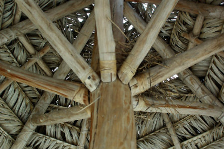 Struttura in bambù