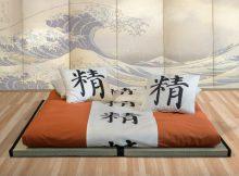 Futon tradizionale con tatami
