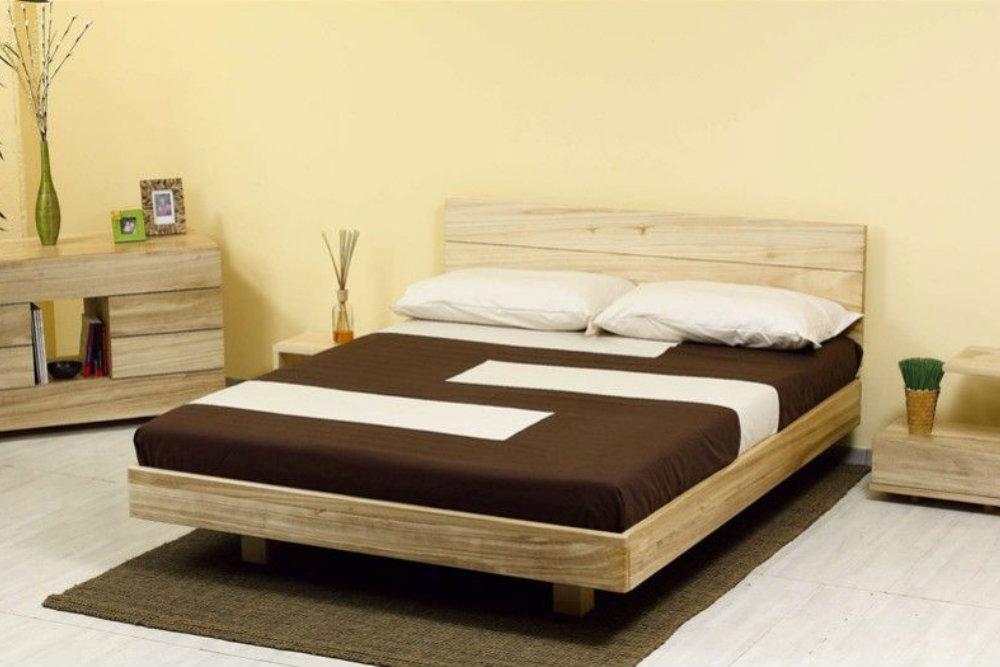 Le meraviglie del letto in legno alla francese vivere zen - Dimensioni letto alla francese ...