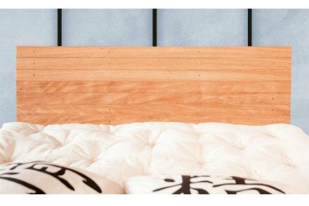 Testiera letto in legno semplice