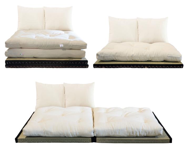 kanto trasformazione da poltrona a letto singolo