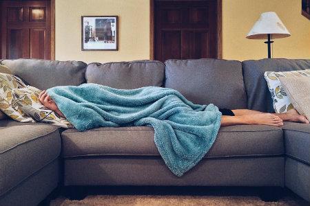 Coperta e divano
