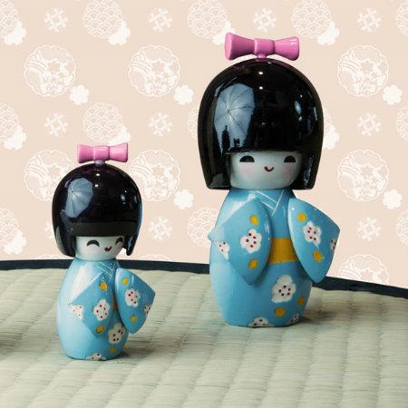 Bamboline giapponesi Kokeshi