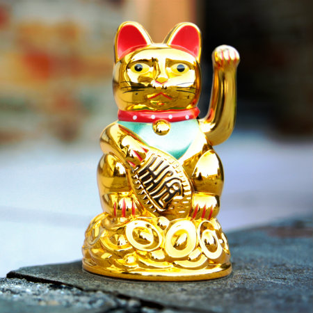 Gatto portafortuna Maneki Neko