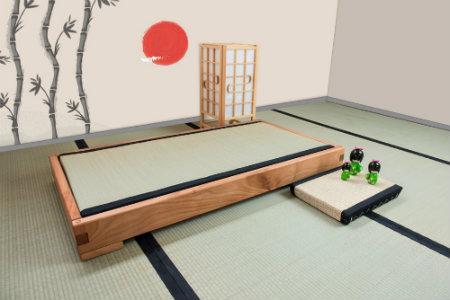 Letto Futon Bimbi : Letto in legno e cameretta a misura di bambino vivere zen