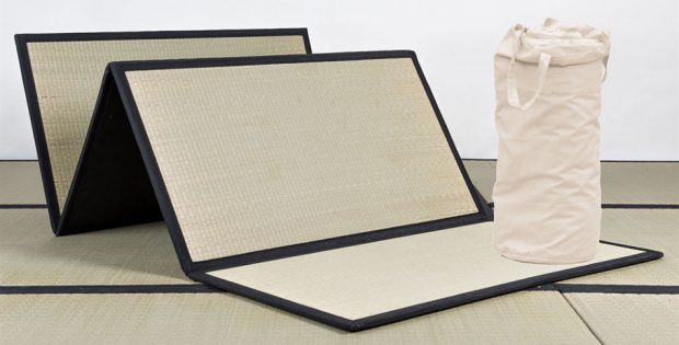 kit futon a porter e tatami pieghevoli