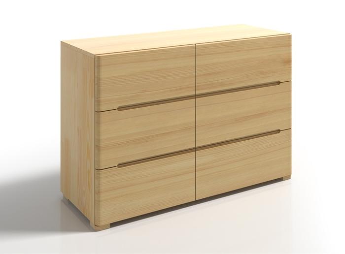 Cassettiera Sparta in legno di pino